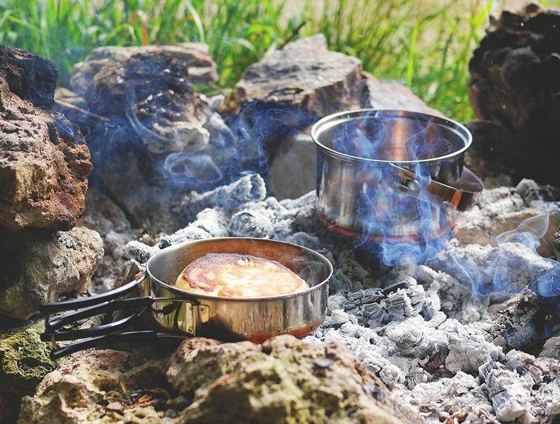 Koken en lekker eten - koken kamperen