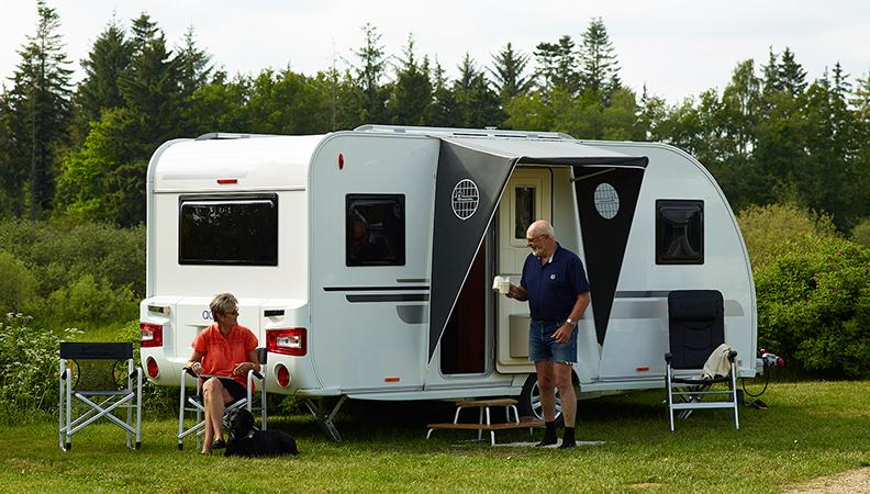 Luifels en voortenten - caravan