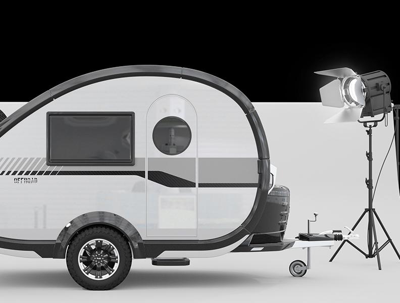 De compacte caravan