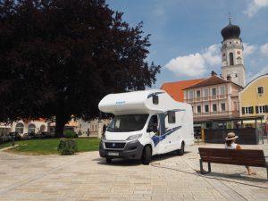 Knaus camper Traveller