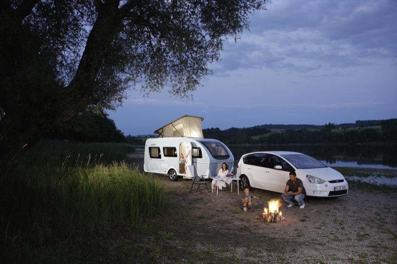 caravan camping vakantie
