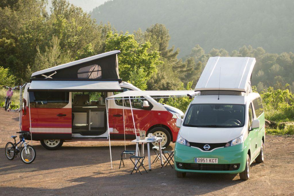 Nissan bus elektrische camper