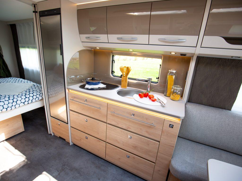 Dethleffs Nomad 2020 keuken